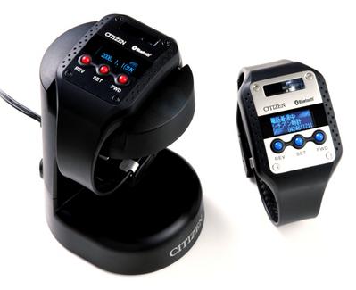 Montres Bluetooth Citizen  i:VIRT, série limitée à 2.500 exemplaires par modèle -- Cliquez pour voir l'image en entier